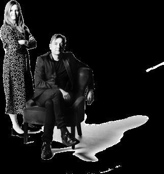 skribenterna Helena Lindblad och Nicholas Wennö